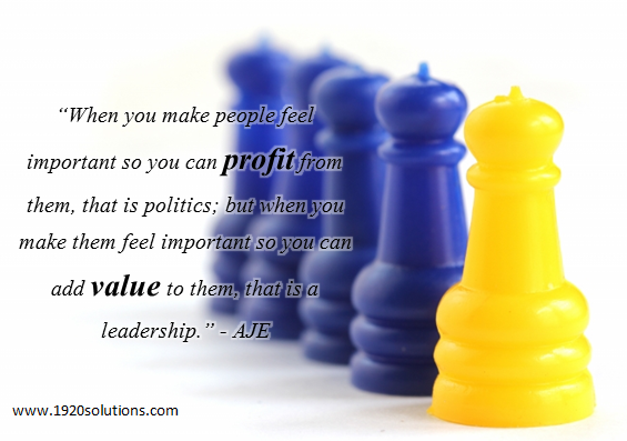 NETWORKING: True Leadership and Values
