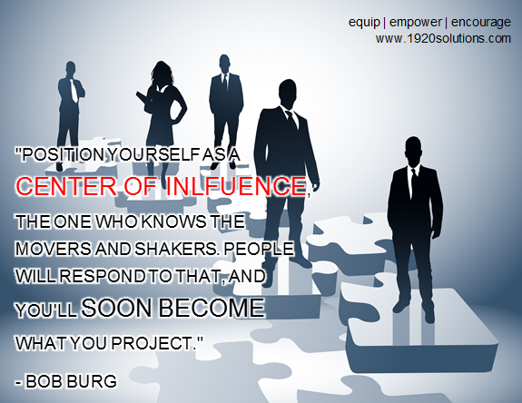 NETWORKING: Center of Influence